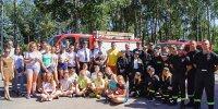 Obóz szkoleniowy Młodzieżowych Drużyn Pożarniczych